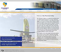 Nigerian web site designed by Plainsail Solutions Limited: Daywaterman College